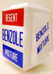 Regent Benzole Mixture Petrol Pump Globe