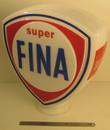 Fina Super Petrol Glass Petrol Globe.