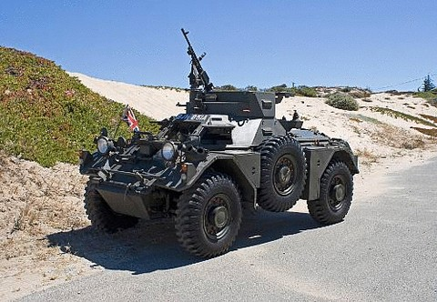 1962 Daimler Ferret Mk2 Armored Scout Car