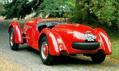 Healey Silverstone England (1950)