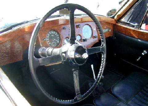 Jaguar Xk120 Fhc White Dash (1954)