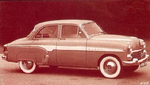 Vauxhall Cresta (1955)