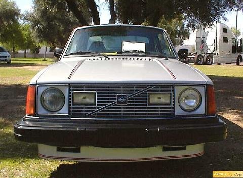 Volvo 242 Gt 2dr Sdn Gry Front (1978)