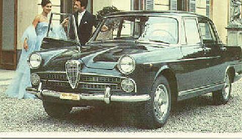 Alfa Romeo 2000 Berlina (1958)