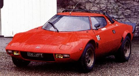 Lancia Stratos (1973, front side view)