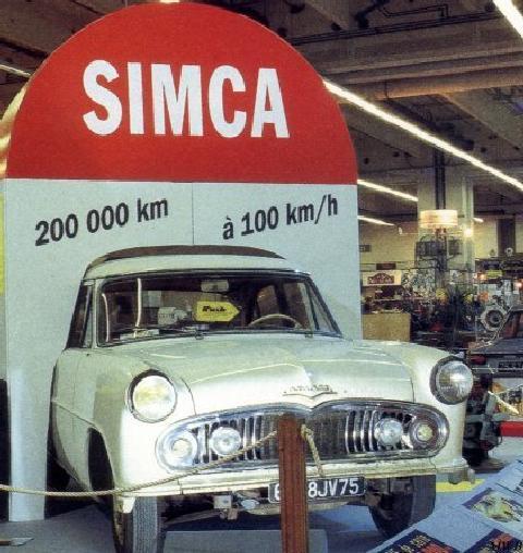 Simca Ariane Des Records (1960)