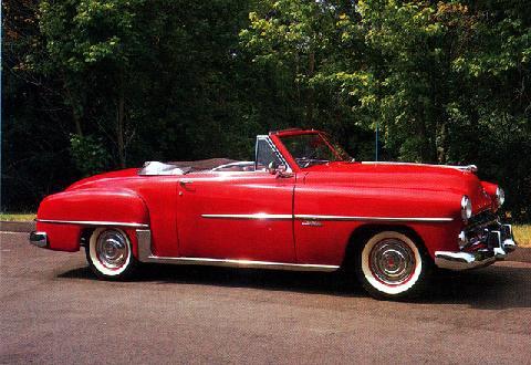 Dodge Wayfarer Sportabout Roadster (1952)
