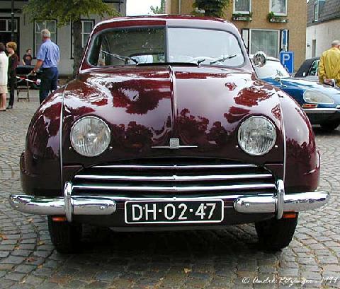 Saab 92b 1955 Front
