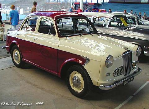 Wolseley 1500 1961 Front three quarter view
