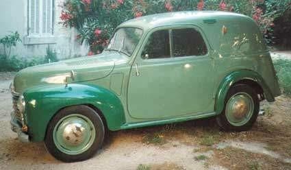 1949 Simca 6 fourgonnette jbtg