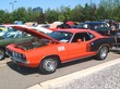 1971 Plymouth 383 'Cuda Hardtop Red with Black Billboard Tape Applique fvl (2004 CEMA) F