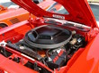1971 Plymouth Hemi 'Cuda Convertible Engine & Black Shaker Hood Tor-Red (2005 CEMA) DSCN5397
